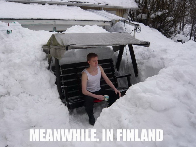 Meanwhile, in Finland