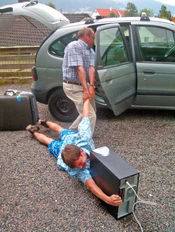 Going on vacation